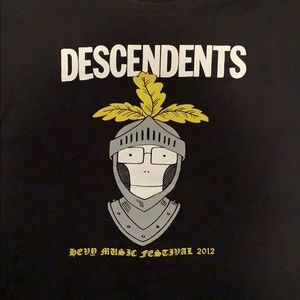 Rare Descendents Hevy Music Festival 2012 tee